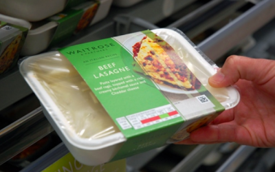 Waitrose launches 'world first' home compostable ready meal packaging